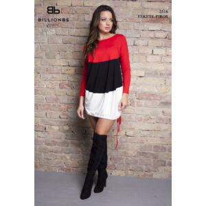 ruha 2516 fekete-piros