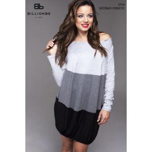ruha 2516 szürke-fekete