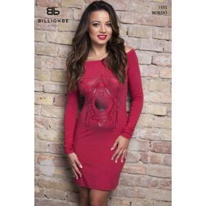 ruha 1553-1 bordó